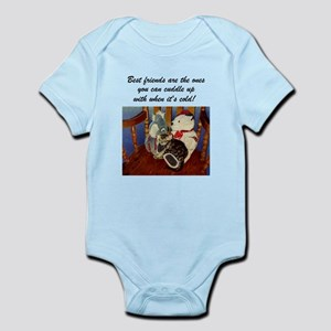 Best Friends Kitten Infant Bodysuit