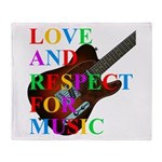 Love and respect (T) Throw Blanket