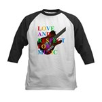 Love and respect (T) Kids Baseball Jersey