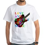Love and respect (T) White T-Shirt