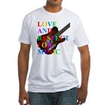 Love and respect (T) Fitted T-Shirt