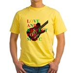 Love and respect (T) Yellow T-Shirt