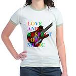 Love and respect (T) Jr. Ringer T-Shirt