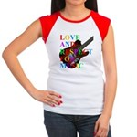 Love and respect (T) Women's Cap Sleeve T-Shirt