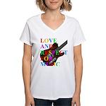Love and respect (T) Women's V-Neck T-Shirt