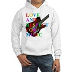 Love and respect (T) Hooded Sweatshirt