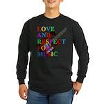 Love and respect (T) Long Sleeve Dark T-Shirt