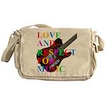 Love and respect (T) Messenger Bag