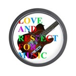 Love and respect (T) Wall Clock