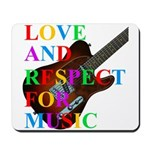 Love and respect (T) Mousepad
