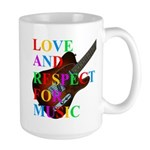 Love and respect (T) Large Mug