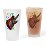 Love and respect (T) Drinking Glass