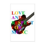 Love and respect (T) Mini Poster Print