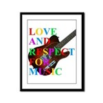 Love and respect (T) Framed Panel Print