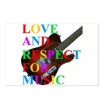 Love and respect (T) Postcards (Package of 8)
