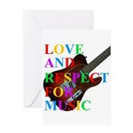 Love and respect (T) Greeting Card