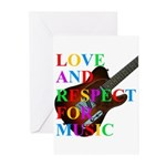 Love and respect (T) Greeting Cards (Pk of 20)
