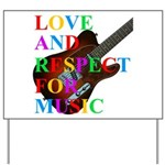 Love and respect (T) Yard Sign