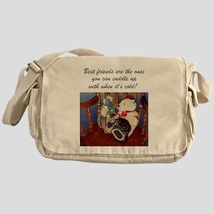 Best Friends Kitten Messenger Bag