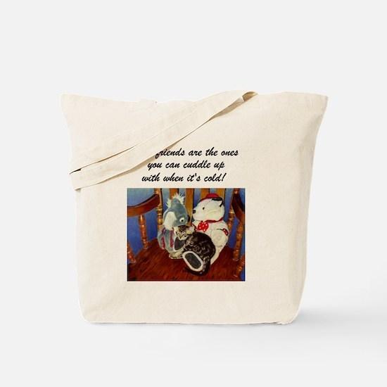Best Friends Kitten Tote Bag
