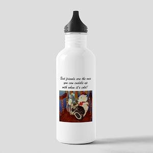 Best Friends Kitten Stainless Water Bottle 1.0L