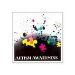 Autism awareness puzzle  Sticker (Square 50 pk)