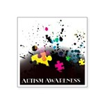 Autism awareness puzzle  Sticker (Square 10 pk)