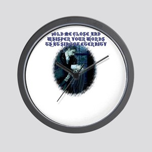 Whispers of Eternity Wall Clock
