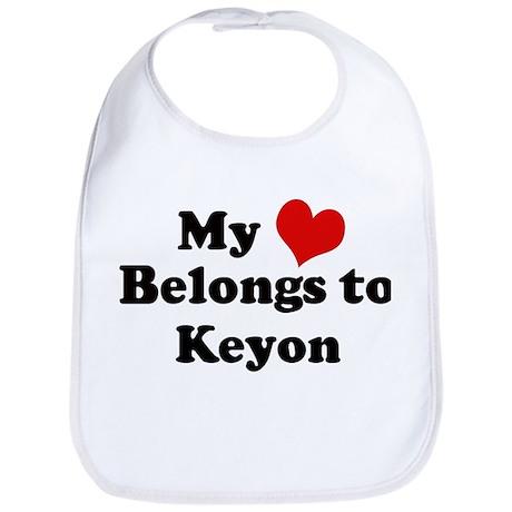 My Heart: Keyon Bib