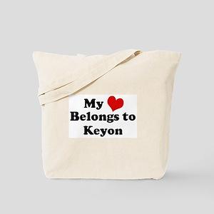My Heart: Keyon Tote Bag