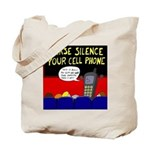 Cell Phone Tote Bag