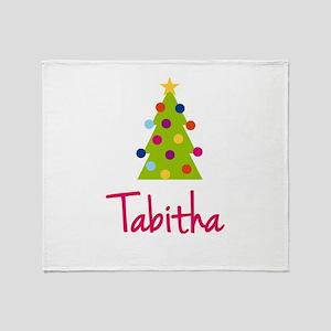 Christmas Tree Tabitha Throw Blanket
