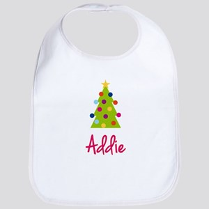Christmas Tree Addie Bib