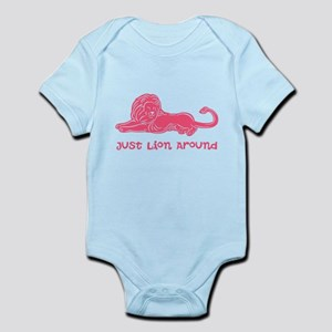Lion Around (rose) Infant Bodysuit