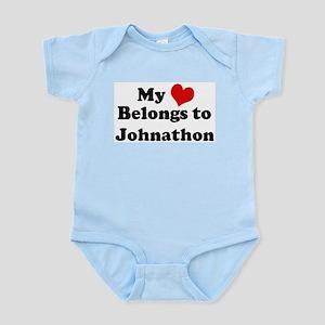 My Heart: Johnathon Infant Creeper