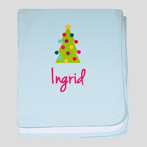 Christmas Tree Ingrid baby blanket