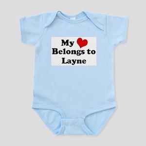My Heart: Layne Infant Creeper