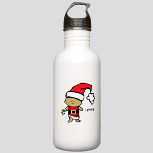 Santa Baby i pooped Stainless Water Bottle 1.0L