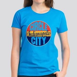 Indianapolis Vintage Label Women's Dark T-Shirt