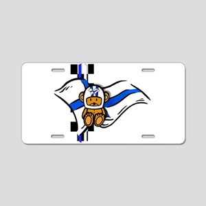 Finland Racing Aluminum License Plate