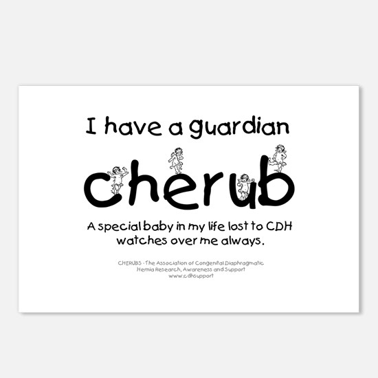 Guardian Cherub Postcards (Package of 8)