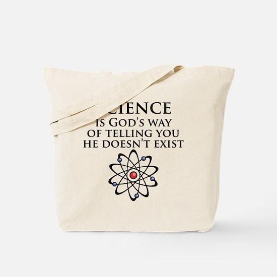 Science is God's Way Tote Bag