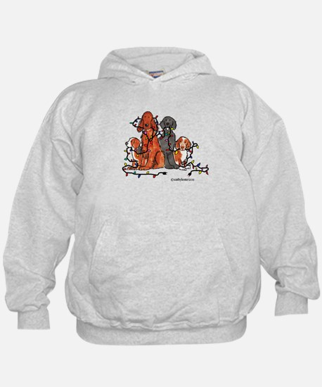 Dog Christmas Party Hoodie