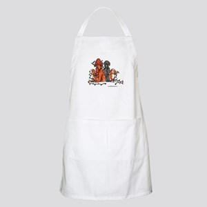 Dog Christmas Party Apron