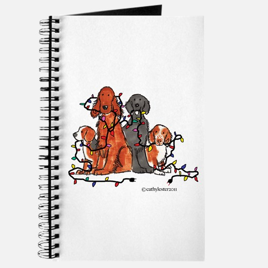 Dog Christmas Party Journal