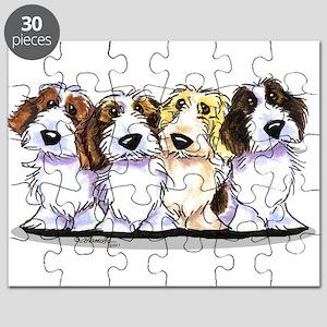 Four PBGV Puzzle