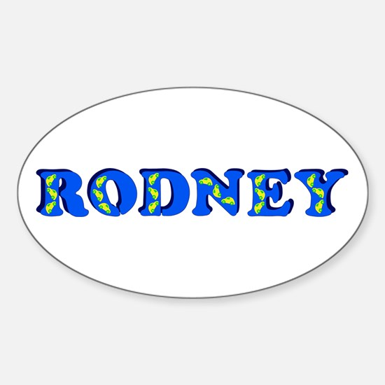 Rodney Sticker (Oval)