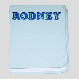Rodney baby blanket