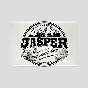 Jasper Old Circle Rectangle Magnet