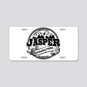 Jasper Old Circle Aluminum License Plate